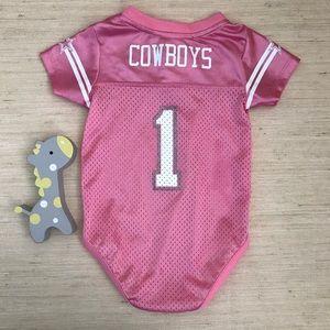 NFL One Pieces - Dallas Cowboys Baby Girl Onesie 1e8595bd8